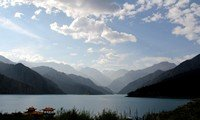 xinjiang heavenly lake