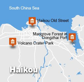 Haikou hak-1 map
