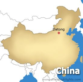 Datong Location Map