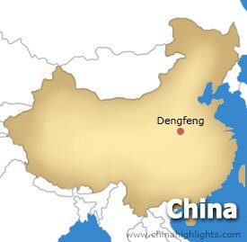 Dengfeng Location Map