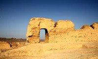 jiaohe ruins in xinjiang