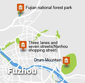 fz-1 fuzhou map