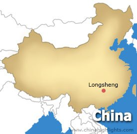 Longsheng Location Map