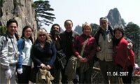 Tour to Huangshan Yellow Mountain