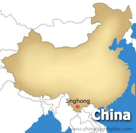 Jinghong Location Map