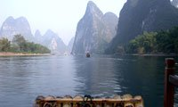 the li river bamboo rafting