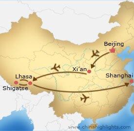 cht-91 tour map