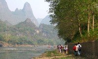 li river hike guilin