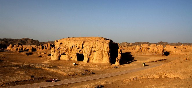 Jiaohe Ancient City Ruins Xinjiang