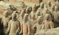 terracotta-warriors and horses army in xian