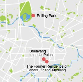 say-1 Shenyang Map