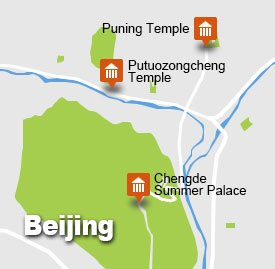 Chengde Tour Map