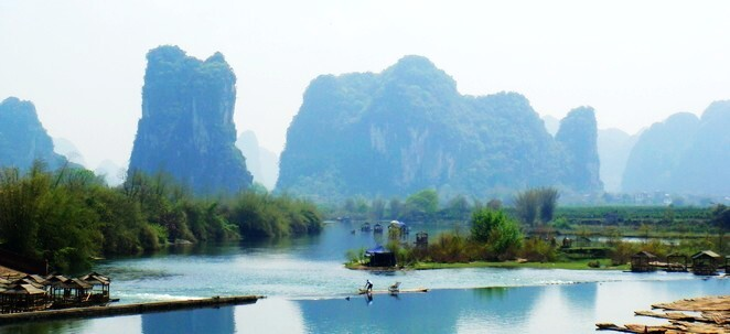 Countryside Scenery Of Yangshuo