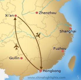 xa-9 tour map