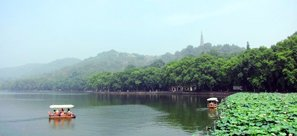 hangzhou west lake boat