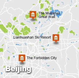 bj-31 Beijing Tour Map