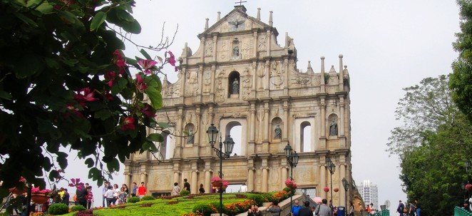 Saint Paul Ruins Cathedral Macau