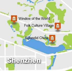 shz-1 tour map