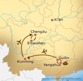 cht-21 tour map