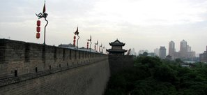 Xian Memories Tour Ancient City Wall