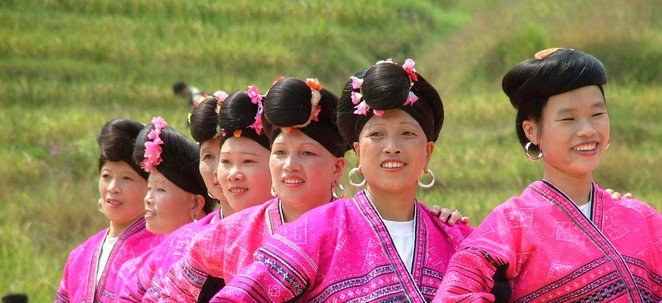 Longsheng Ethnic Girls