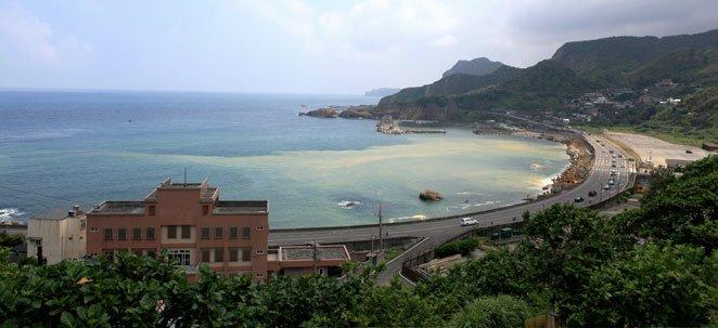 Coastline in Taiwan