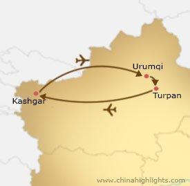 xj-2 tour map