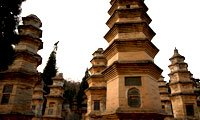 pagoda forest in shaolin temple