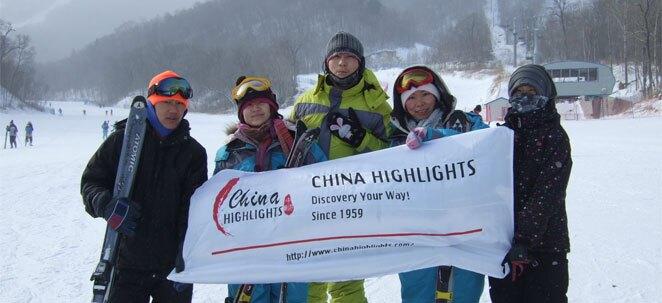 Ski in China