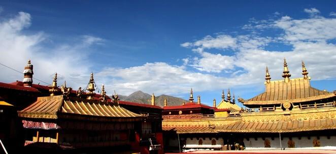 Jokhang Temple Tibet Lhasa