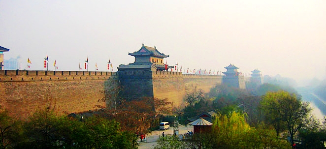 The Ancient City Wall in Xi'an