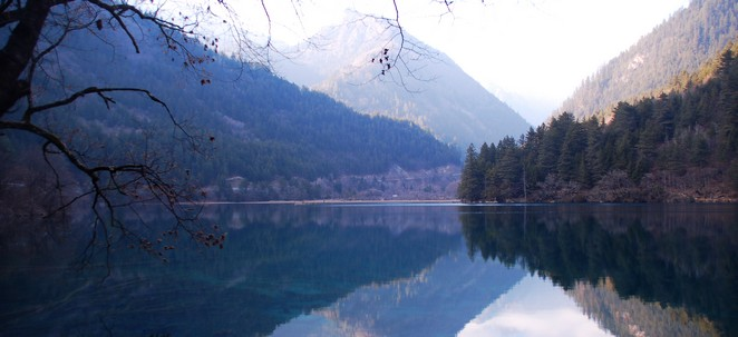 Jiuzhaigou Scenery Sichuan