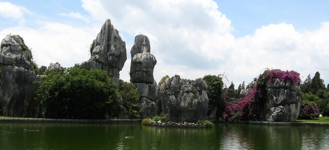 Stone Forest in Kunming Yunnan