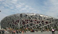 bird nest in beijing olympic green