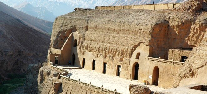 Bezeklik Thousand Buddha Caves in Xinjiang