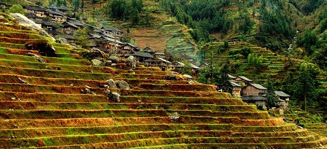 Longji Rice Terraces And Villages