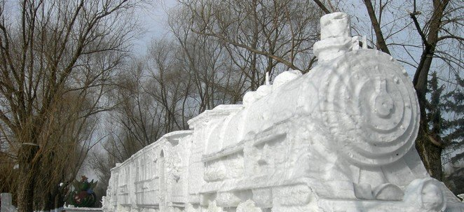 Sun Island Snow Sculpture Harbin