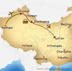 xj-6 tour map