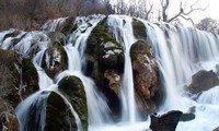suzhenggou waterfalls jiuzhaigou sichuan