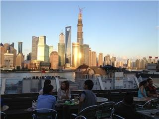 Sundowners in Shanghai