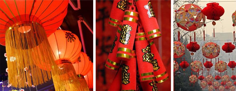 Chinese New Year decorations