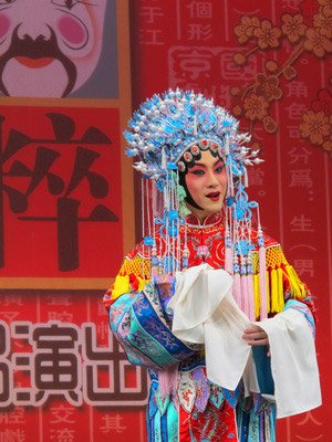Beautiul costume of Beijing Opera