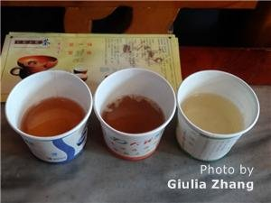 three cups of bai tea ceremony