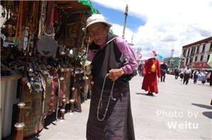 Barkhor Street souvenirs