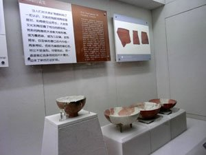 The collections in Xingjiang Uyghur Autonomous Region Museum<