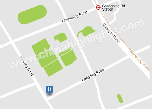 Kangding Road / Yanping Road Junction