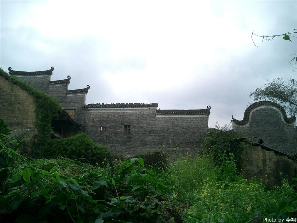 The ancient building of Jiuwu Town