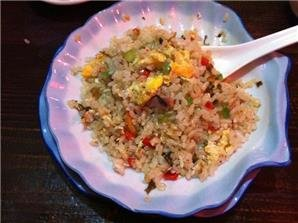 Chinese Rice Dishes Menu