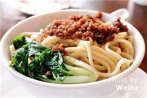Chengdu noodles dandanmian