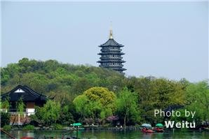 Leifeng Pagoda along the West Lake